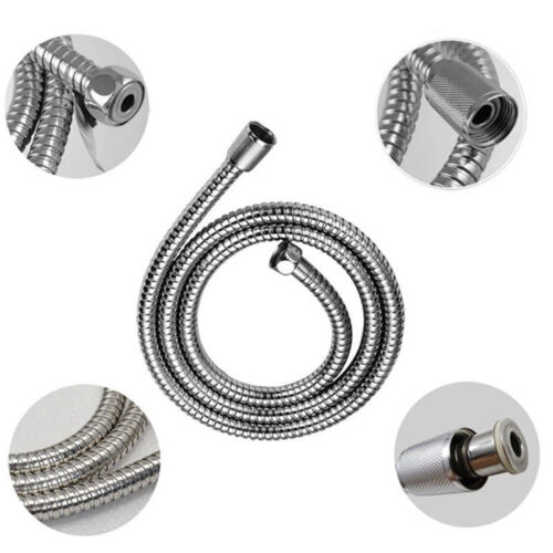 """59/"""" inch Long Bathroom Stainless Steel Handheld Flexible Replacement Shower Hose"""