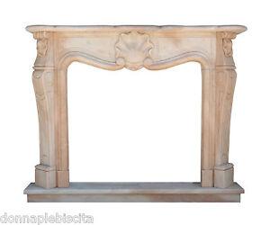 Camino marco de la chimenea m rmol rosa portugal cl sico stone m rmol fireplace ebay - Marco de chimenea ...
