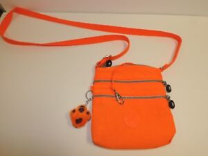 880325bddc Kipling Alvar XS Cross Body Mini Bag BRIGHT Orange AC7098-643