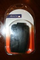 At&t A T T Carrying Case For Blackberry Curve 8900 8520 W/ Belt Clip Black