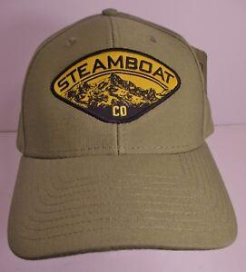 04396802ef705 Steamboat Hat Cap Snapback Colorado Ski Resort USA Embroidery New ...