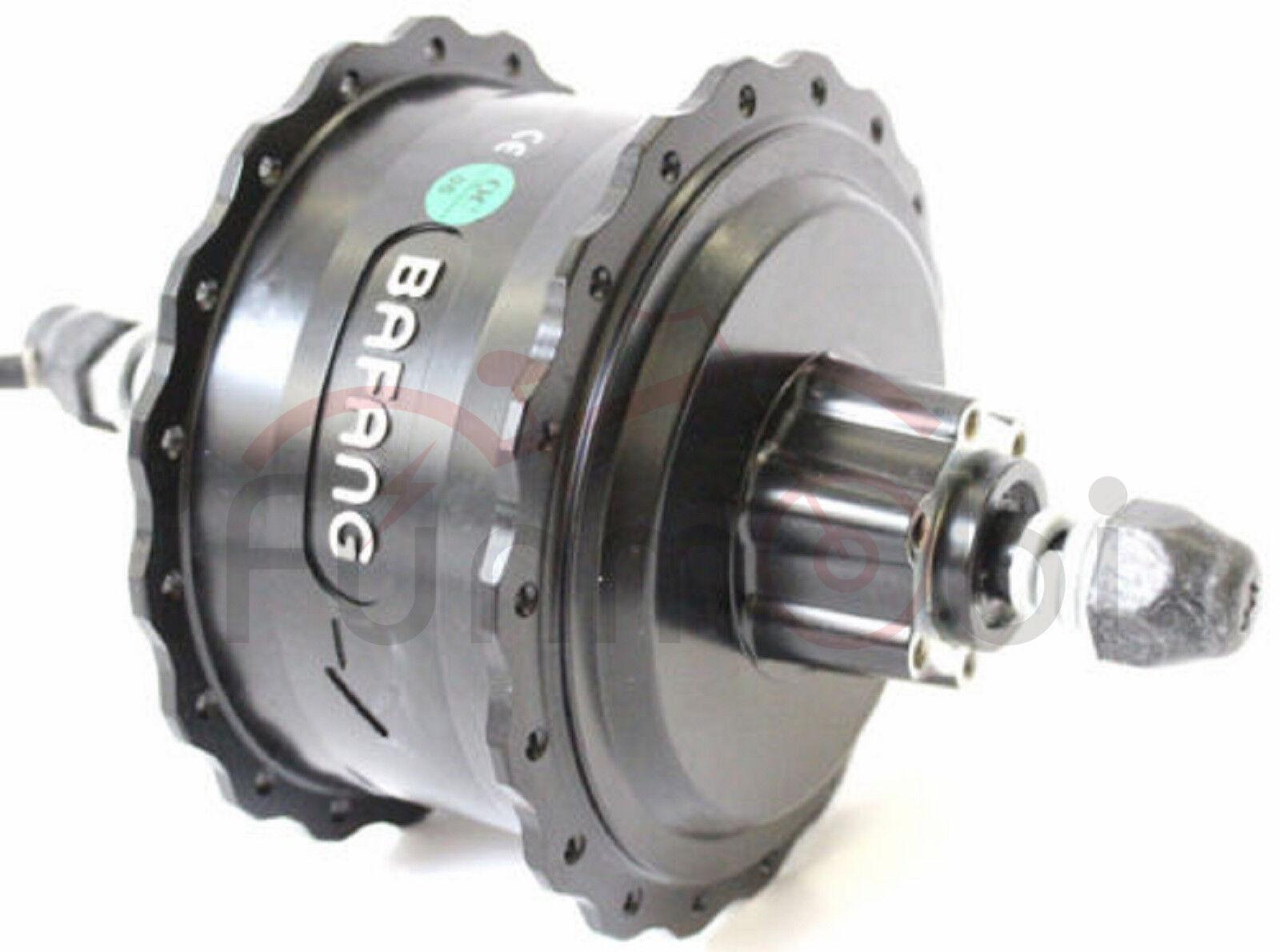 Bafang 36V 48V 500W Brushless Geared Cassette Rear Hub Motor 190mm For Fat Ebike