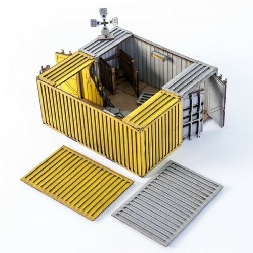 NIB 4Ground KB28-HLA-101-OP3 2x Damaged Containers A Option 3 Yellow /& Grey