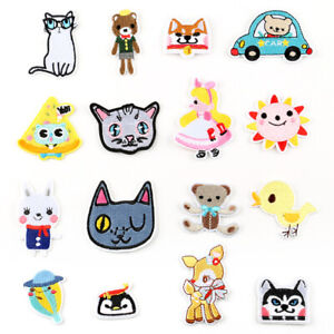Cute-Animal-DIY-Embroidered-Sew-Iron-On-Patches-Badge-Fabric-Applique-Sticker