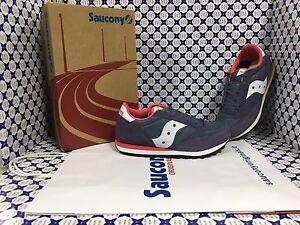 SCARPE SAUCONY KIDS Jazz Original Sneakers Bimba Blu Rosa