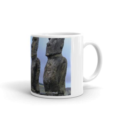 Monolithic Human Figures in Easter Island Coffee Mug