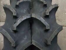 TWO 7x16, 7-16  Terramite Backhoe DEERE KUBOTA 4 Ply R 1 Bar Lug Tractor Tires