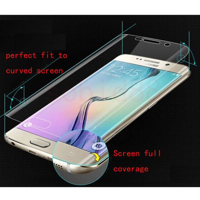 Clear Anti-Scartch Full Screen Protector Film For Samsung Galaxy S6 Edge Plus