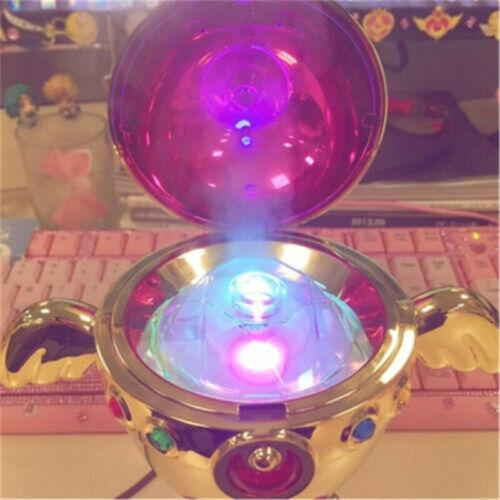 Sailor Moon Moon Pink Chalice Humidifier Holy Grail Tsukino USB LED Night Light