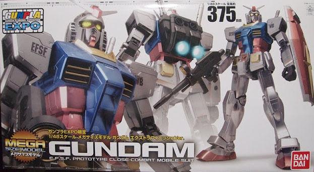 Gundam EXPO 2011 EXCLUSIVE 1 48 Mega Dimensione modellololo RX-78-2  Gunpla Extra Finish Vers  ordina ora goditi un grande sconto