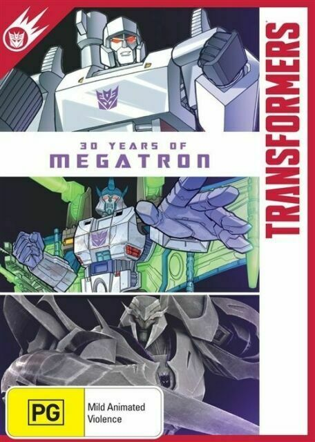 Transformers - 30 Years Of Megatron DVD