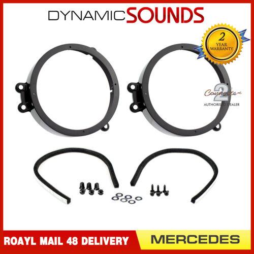 CT25MC05 165mm Front Door Car Speaker Adaptors For Mercedes CLK W209 2002-2009