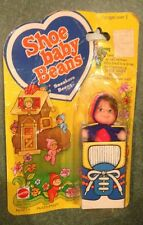 """Shoe Baby Beans Doll """"SNEAKERS Beans"""" 1978 Mattel, Mint In Box MIB Vintage 70's!"""