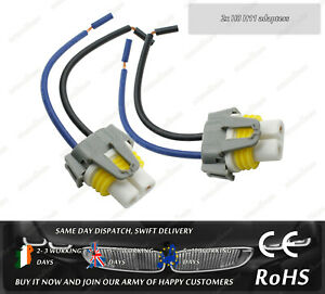 LED-Halogen-Incandescent-H8-H11-Fog-Bulb-Headlight-Holder-Adapters-Connector