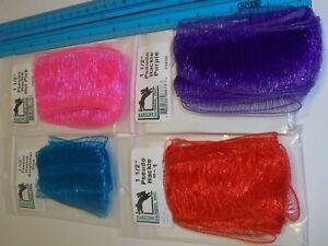 Hareline-Pseudo-hackle-1-5-034-white-red-purple-orange-pink-blue