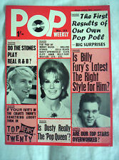 POP  WEEKLY MAGAZINE,No23, 30th JAN 1965,16 PAGES,BEATLES,ELVIS,STONES ++VG COND