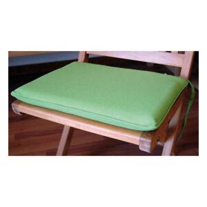Dettagli su Set Cuscini Sunproof per sedie (4 pz.) col.Verde