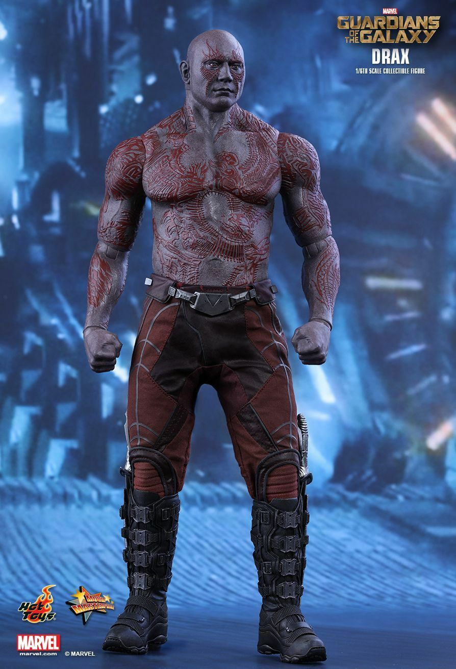 HOT TOYS 1/6 MARVEL GUARDIANS OF THE GALAXY MMS355 DRAX DRAX DRAX MASTERPIECE FIGURE 590ebd