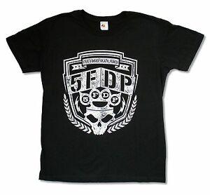 Five-Finger-Death-Punch-Bolts-Black-T-Shirt-New-Official-Adult-5FDP