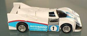 Rothmans Porsche Machine Robo Gobots Mr-20 Bandai Popy Gk Japon 1983 Transformateur