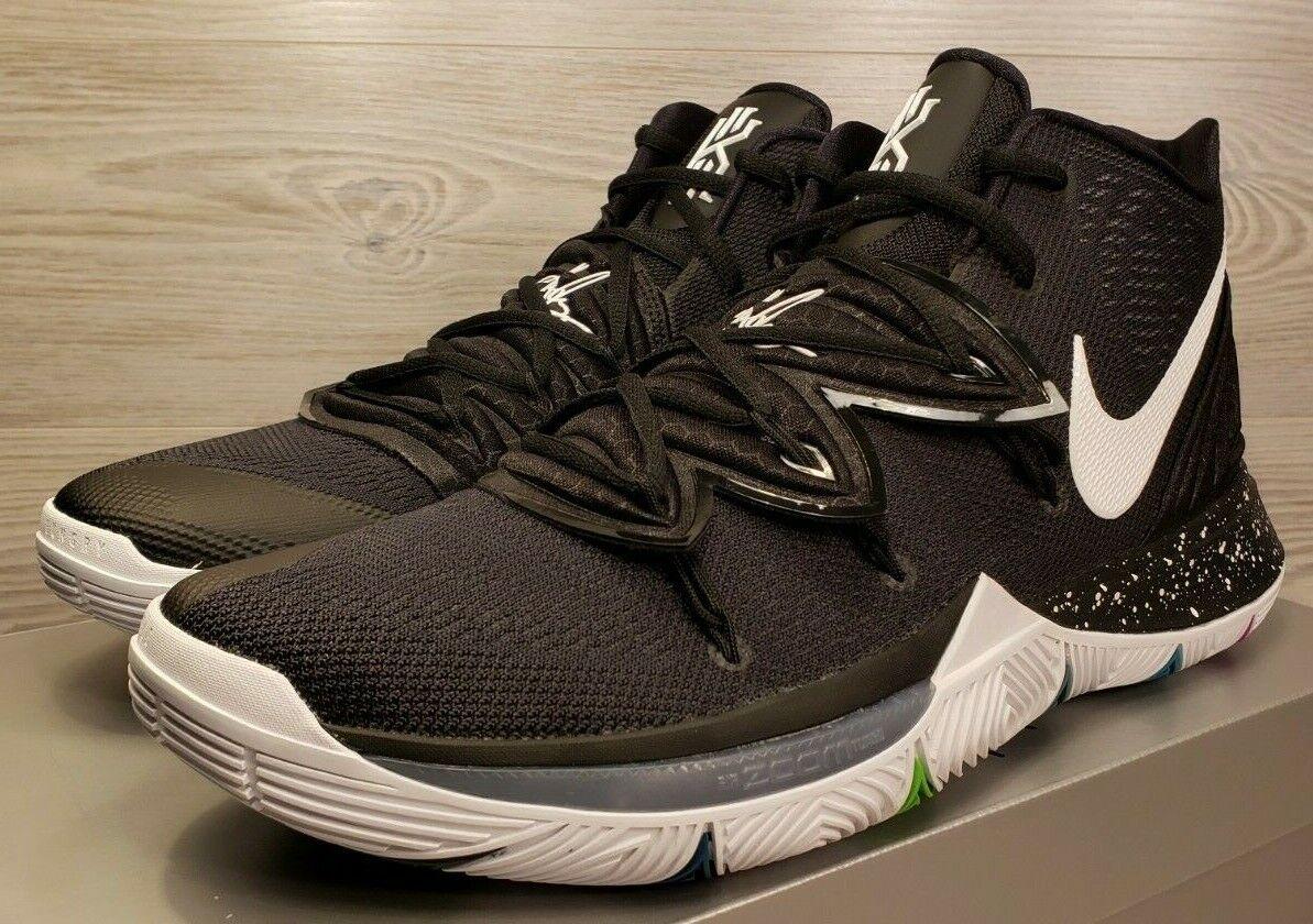 Nike Kyrie Irving 5 V Black Magic Multi-color White Fashion AO2918-901 Size 13.5