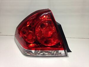 Image Is Loading 2006 2017 Chevy Impala Tail Light Lh Oem