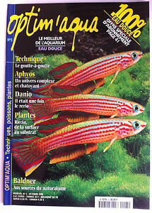 Responsable Optim'aqua Magazine N°5 - Goutte à Goutte/ Damio/ Plantes/ 100 % Eau Douce