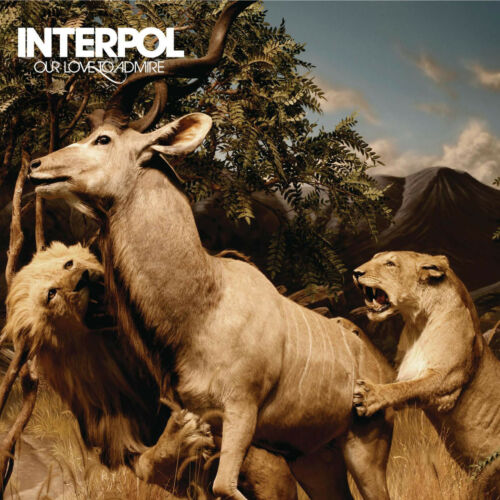 """Interpol Our Love to Admire Cover Poster 2007 Album Art Print 20×20 24×24 32×32/"""""""