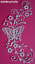 """Floral Die Cut Toppers ~ /""""Mariposa magia/"""" Tattered Lace naturaleza"""