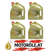 20 L LITER CASTROL EDGE 5W-30 LL MOTOR-ÖL MOTOREN-ÖL VW AUDI MB LONGLIFE 4