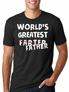 Father-039-s-Day-T-shirt-Gift-for-Dad-Cool-Funny-Dad-Father-Farter-T-shirt