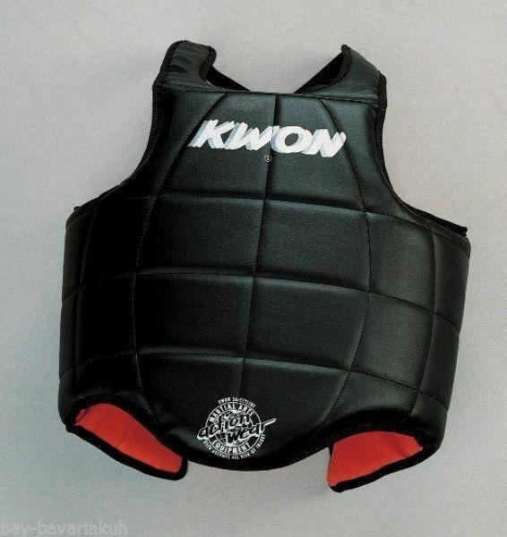 KWON® Kampfweste Weste Schutz Körperschutz Muay Thai Thaiboxen K1 K-1 Kickboxen