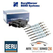 Beru Steuergerät Glühzeit GSE102 mit 6x Glühkerzen GE102 für BMW 3er 6 Zylinder