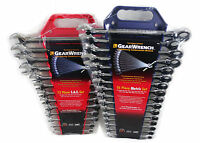 13-Piece GearWrench 9312 SAE Master Ratcheting Wrench Set