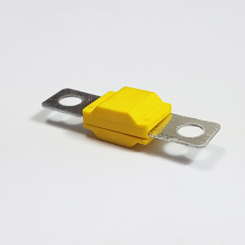 10 x 60 Amp Midi FUSIBILE Giallo MIDI//striscia di collegamento scatola portafusibili AUTO 60 A