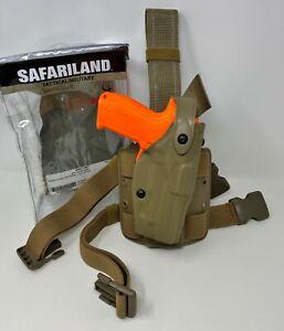 Safariland 6304 ALS//SLS Tactical Holster Drop-Rig For GLOCK 17,22 RH 6304-3832