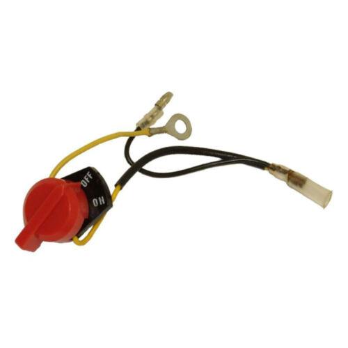 For Honda GX110// GX120// GX140 GX160 GX200 Engine On//Off Stop Switch W// Two Wire