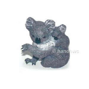 AAA-55049-Koala-Bear-with-Cub-Wild-Animal-Toy-Model-Figurine-Replica-NIP