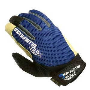 NEW AFTCO Bluefever Release Fishing Fighting Gloves M GLOVERMBLUE