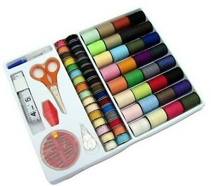 Pack-of-64-rolls-different-Colour-Sewing-thread-and-needle-pack-DIY-NEEDLEWORK