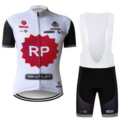 Moutain Road Mens Cycling Jersey Bib Shorts Set Shirt Brace Tights Kits Clothing