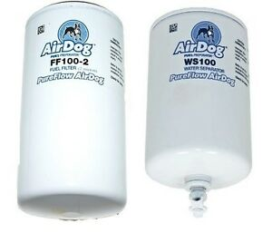 airdog pureflow replacement fuel water separator filters ff100 2 ws100 ebay. Black Bedroom Furniture Sets. Home Design Ideas