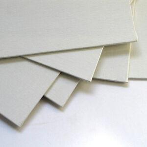 Economy Canvas Panel 14X18 Box of 50 Bulk Discount White Acid Free Artist Canvas