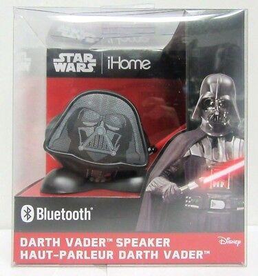 Brand New iHome Star Wars Darth Vader Bluetooth Speaker Factory Sealed