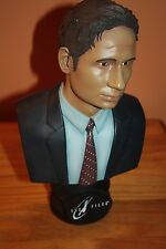 """The X-Files Fight the Future 10"""" Fox Mulder David Duchovny statue bust Signed"""