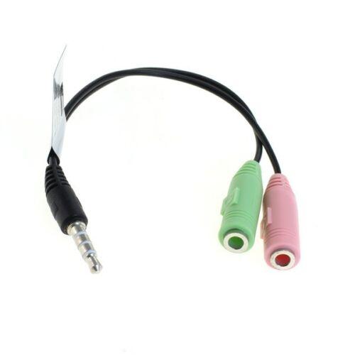 Adaptador auriculares PC auriculares con micrófono a PlayStation 4 ps4 Controller cuh-zct1 zct2 series