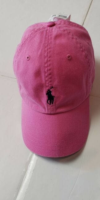 5d455fde47a NWT POLO RALPH LAUREN BASEBALL CAP LEATHER ADJUSTABLE Strap HAT ONE SIZE  D
