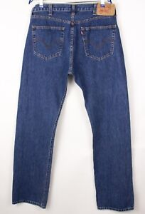 Levi's Strauss & Co Hommes 501 Jeans Jambe Droite Taille W38 L34 BDZ758