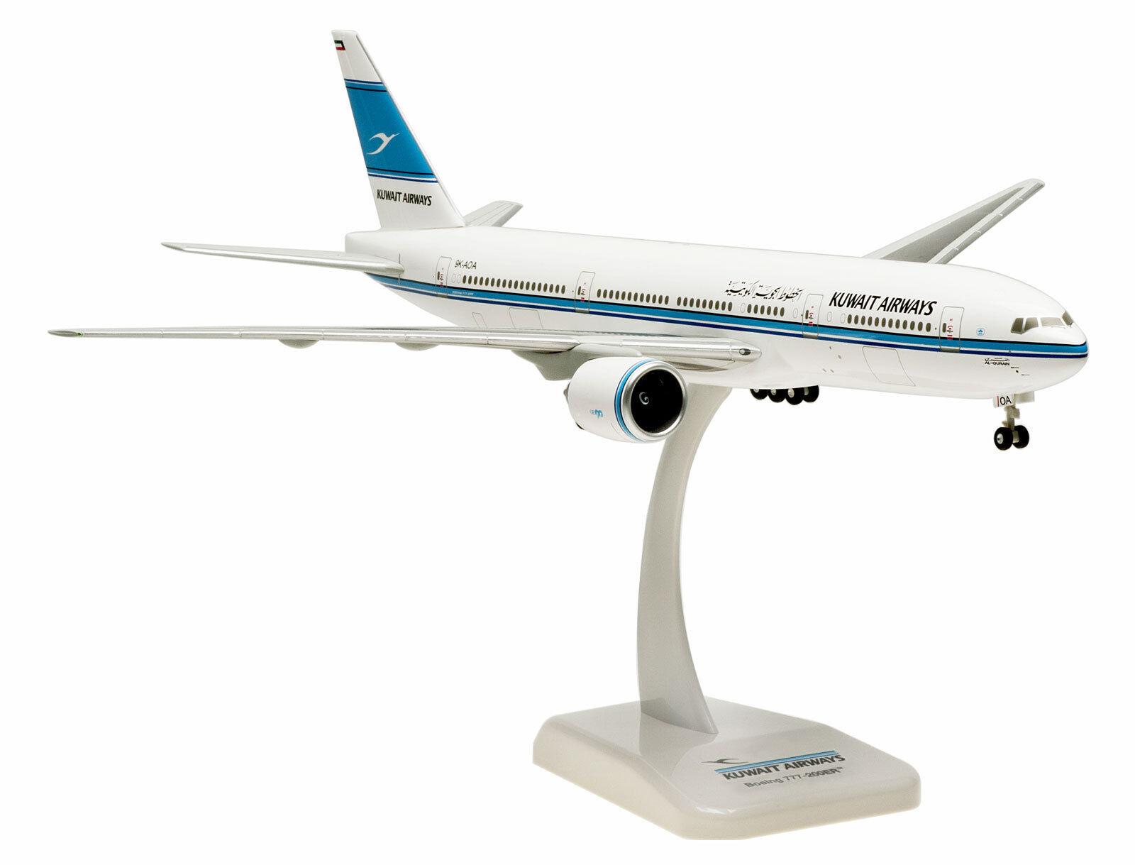 Kuwait airways boeing 777-200er 200 hogan 0137 flugzeug modell b777 9k-aoa