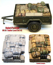1/35 Scale Resin kit M101 3/4 Ton Trailer Load #2 Tamyia / Italeri